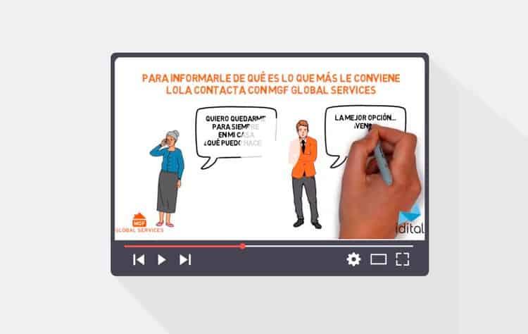 Imagen del vídeo de MGF