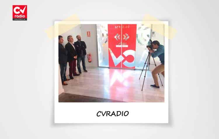 Imagen de la sesión de fotografía en CVRadio