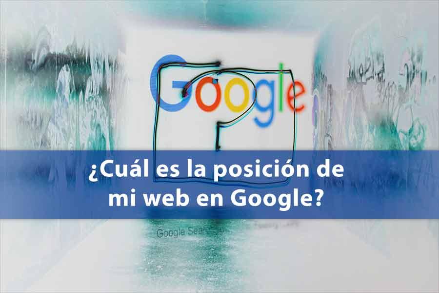 posición web en Google