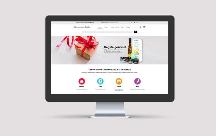 Tienda online Mil recetas